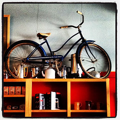 Shelved Bike
