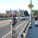 Sharing the Road on Harvard Bridge